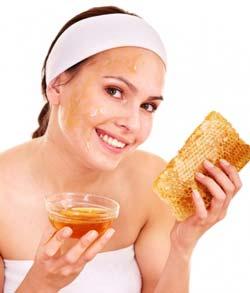 маска для лица из меда