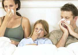 Лечение простуды медом