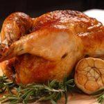курица с блинами и черносливом